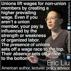 Unions (A rising tide lifts all boats.)