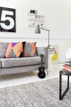 Efter Stormen Blog: 10 Scandinavian living rooms | 10 Salones de estilo escandinavo