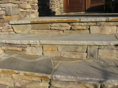 stone steps....front entrance?
