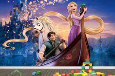 3d children Rapunzel tangled MURAL self-adhesive by DaculjaShop