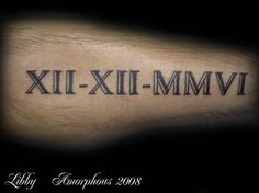 How To Write Roman Numeral Dates - Yahoo Image Search Results