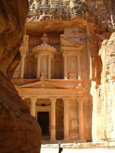Petra, Jordan. Hopefully a future travel destination!