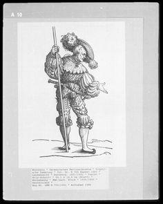 Landsknecht Woodcuts   Germanisches Nationalmuseum plate A10
