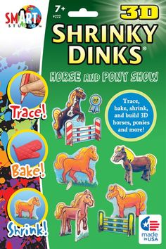3D Shrinky Dinks Horse and Pony Show | Main photo (Cover)