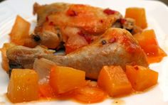 Κοτόπουλο με ανανά γλυκόξινο