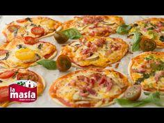 Recetas Entrantes   Receta Mini Pizzas con Obleas