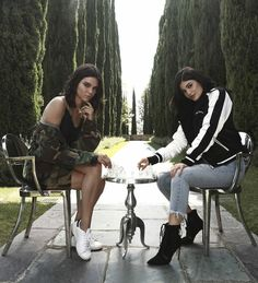 Kendall and Kylie Jenner x Kendall and Kylie Holiday Collection for Pacsun.