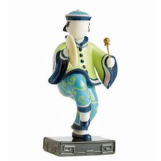 Jean Boggio Baby Circus Bao Boy With Gong. Biggs Ltd. Gallery. Heirloom Quality Bridal and home decor. 1-800-362-0677. $286.