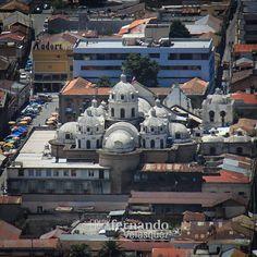 #cúpulas de #catedral de #quetzaltenango #iglesia #xela #guatemala #instalike #instagood #picoftheday
