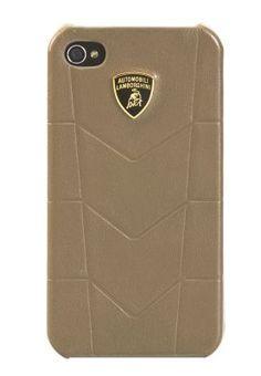 Lamborghini  Leather back cover for I-phone 4