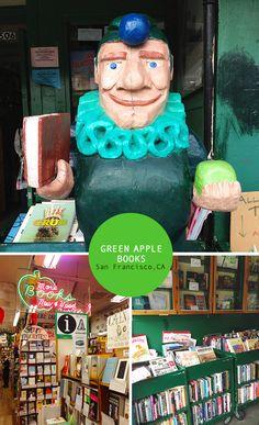 Green Apple Books in the Inner Richmond, San Francisco
