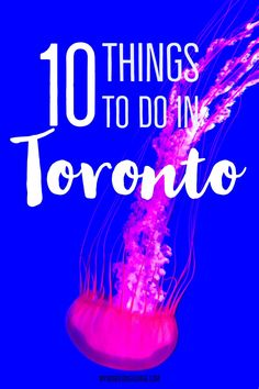 10 things to do in Toronto, Canada for first time visitors | My Wandering Voyage travel blog