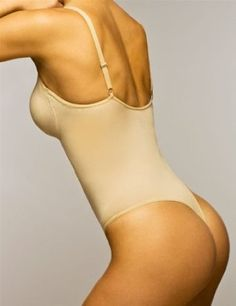 3814026f12ad2 The Body Wrap Thong Bodysuit w  Underwire Style 44015 - Nude - Small Body  Wrap