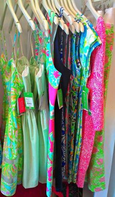 Lilly Pulitzer boutique Palm beach
