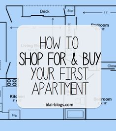 A helpful guide for first time renters.  If you're a student looking for your own place, use this tips to help you find a great apartment!