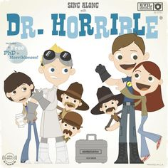 Joey Spiotto Fan Art of Dr. Horrible