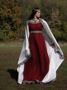 Shawl for Franks Dress medieval cloak cape shawl