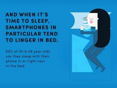 90% Of 18-29 Year-Olds Sleep With Their Smartphones