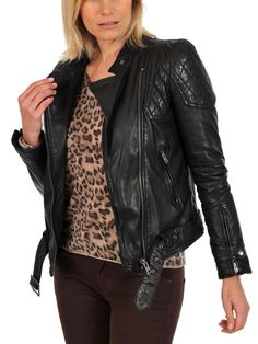4192ada02 35 Best Women s leather jacket images in 2014   Cardigan sweaters ...