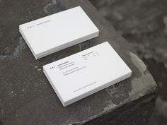 Business cards for OSL contemporary, an art gallery in Oslo. Designed with Sletten & Østvold. Oslo, Over The Years, Norway, Business Cards, Art Gallery, Cards Against Humanity, Contemporary, Design, Lipsense Business Cards