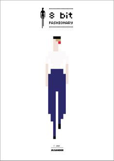 8-Bit Fashionary: Jil Sander.