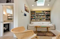 grage becomes a getaway, 270sq feet