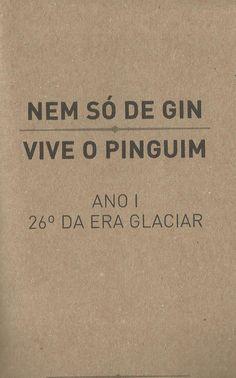 Nem só de gin vive o Pinguim, poesia, do famoso bar Pinguim, Porto