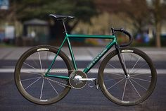 1995 IG Cannondale Track - PEDAL Consumption