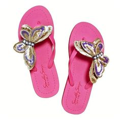 Central Park - Flat Sandal  ||  This butterfly shape motif is made with purple, khaki green and gray sequins. The Butterfly is composed of black beads for the eyes and four diamonds for the bo https://www.mymallmetro.com/products/central-park-flat-sandal?utm_campaign=crowdfire&utm_content=crowdfire&utm_medium=social&utm_source=pinterest