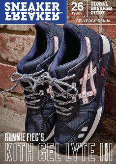 RONNIE FIEG X ASICS SELVEDGE DENIMS Denim Sneakers 0cc820590b