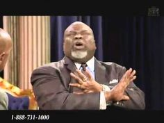 TD JAKES with Steve Harvey on TBN  Jun 10,  2011 Testimony & Interview