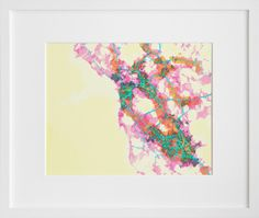 prettymaps (sfba) by Aaron Straup Cope.  I like the chicago map better, but how could I not represent ca and the bay?