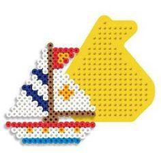 Sailboat Perler Beads