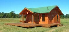 Modelos de Nuestras Casas Prefabricadas - Casas Prefabricadas Resort Gazebo, Shed, Outdoor Structures, Cabin, House Styles, Home Decor, Home Plans, Prefabricated Home, Style At Home