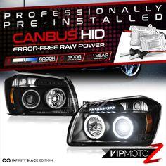 Xtreme White Headlight Bulbs For Honda Odyssey 2005-2010 High /& Low Beam x4