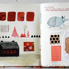 Becca Stadtlander sketchbook #art by lila