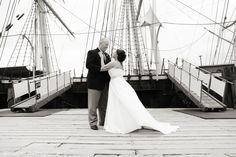 Mystic Seaport Wedding ~ Jane and Colin, Summer 2012. Brian Ambrose Photography.