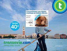 Transavia vous propose de revendre vos objets inutiles sur eBay pour partir en vacances. Une opération menée par l'agence Les Gaulois. Vous avez reçu à Noël la panoplie du parfait chasseur. Pas de chance, vous êtes végétarien par conviction. Vous ne savez pas comment vous en débarrasser ? Partez en vacances avec Transavia ! La compagnie aérienne low cost et le site de vente en ligne eBay se sont associés pour créer un convertisseur d'objets en billets d'avion. Entrez votre ville de départ…