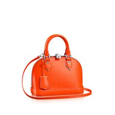The charming Alma BB traces its pedigree to the original Art Deco icon, introduced in 1934 - Luis Vuitton.