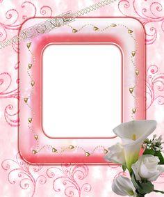 red frame png | Moldura fundo transparente