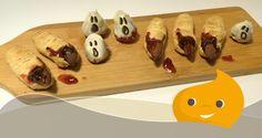 Ricette di Halloween Light - Fragole fantasma e unghie di strega - Chiacchiere Dolci