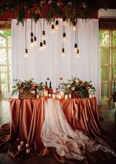 When you are choosing decor for your reception, the first thing to think about is a sweetheart table. This is the main spot of any reception and it should #weddingideas