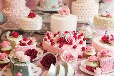 Perfect Valentines cakes! Cath Kidston Cakes and Sugar Craft