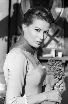 The Italian actress Silvana Mangano acting in the film 'Tempest'. Yugoslavia, 1958