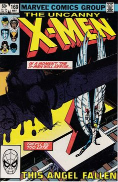 Uncanny XMen 1963 1st Series 169 May 1983 Issue  by ViewObscura, $4.00