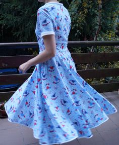 Whirling dress by Puffka&Sue