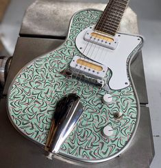 Daddy Mojo Electrics Guitar Musical Instrument, Music Instruments, Custom Electric Guitars, Custom Guitars, Guitar Shop, Cool Guitar, Soul Music, Mint Aesthetic, Band Of Horses