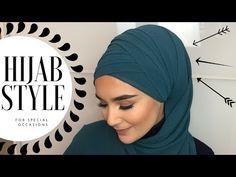 Folded Hijab Style I Occasional – Hijab Club Easy Hijab Style, New Hijab Style, Hijab Turban Style, Mode Turban, Pashmina Hijab Tutorial, Hijab Style Tutorial, Hijab Wedding Dresses, Hijab Bride, Stylish Hijab