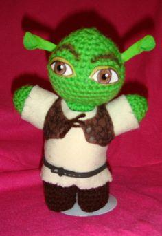 Shrek AmigurumiI Crochet doll, Handmade,Unique, a Must Have. $24.99, via Etsy.