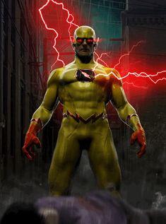 Flash Marvel, Flash Comics, Arte Dc Comics, Dc Comics Superheroes, Zoom Wallpaper, Flash Wallpaper, Best Superhero, Superhero Design, Zoom The Flash